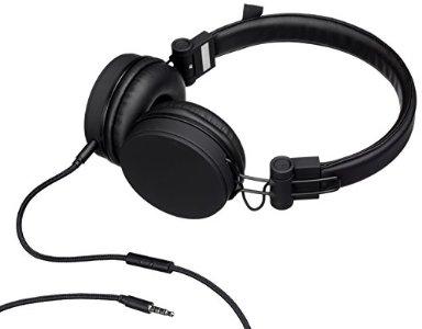 Novelty Travel Portable On-Ear Foldable Headphones Wedding Marriage Romance Love Script - Blue Gray